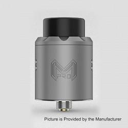Authentic Digiflavor Mesh Pro RDA Rebuildable Dripping Atomizer w/ BF Pin - Gun Metal, Stainless Steel, 25mm Diameter