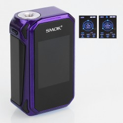 Authentic SMOKTech SMOK G-Priv 2 230W TC VW Variable Wattage Box Mod - Purple Black, Zinc Alloy, 1~230W, 2 x 18650
