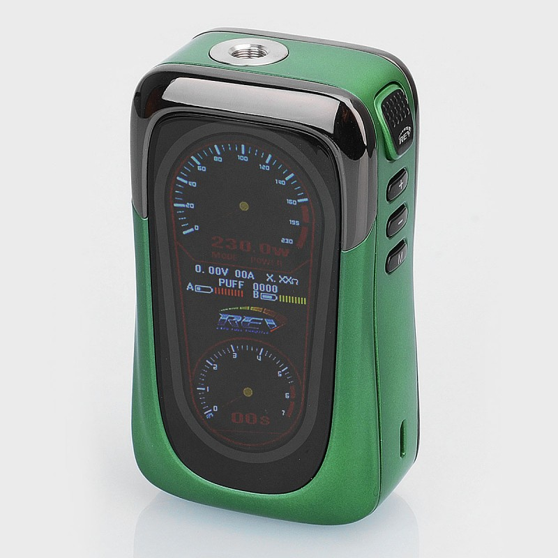 Authentic REV GTS 230W Green 18650 TC VW Variable Wattage ...