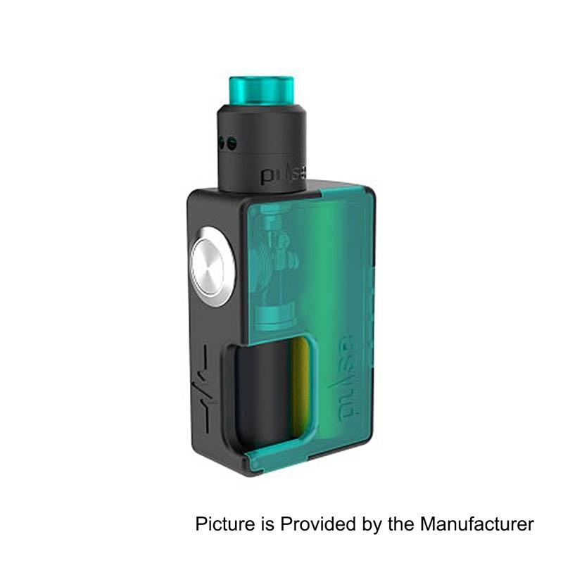 Authentic Vandy Vape Blue Front + Back Panel for Pulse BF Mod