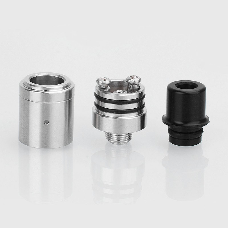 Speed Revolution Mini Style Bf Rda Silver 316ss 14mm