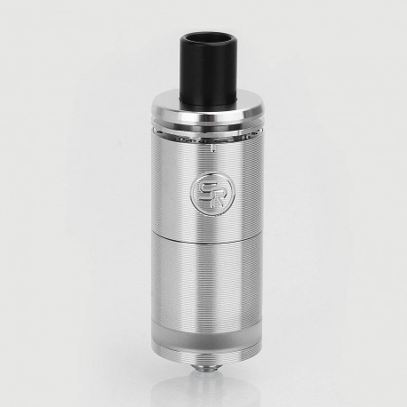 Authentic ShenRay Mesh Ding RTA Rebuildable Tank Atomizer - Silver, 316 Stainless Steel, 6ml, 22mm Diameter, Rough Version