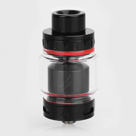 Authentic Blitz Intrepid RTA Rebuildable Tank Atomizer - Black, Stainless Steel, 3.5ml, 24.5mm Diameter