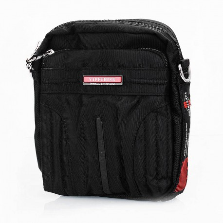 Authentic Vapethink MIB Men-in-Black 1 Carrying Storage Bag for E-cigarette - Black, Polyester, 150 x 185 x 80mm