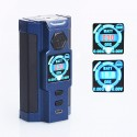 Authentic Sigelei Snowwolf Vfeng-S 230W VW Variable Wattage Box Mod - Blue, Zinc Alloy, 10~230W, 2 x 18650
