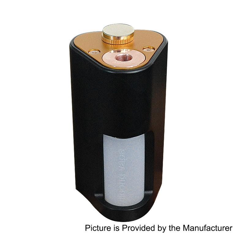 authentic yiloong machete mechanical squonk box mod black aluminum 8ml 2 x 18650 - 【海外】「Yiloong Macheteメカニカルスコンカー」「Coil Master ThemisハイブリッドメカニカルMOD」「FUMYTECH VAPOMIX KIT」