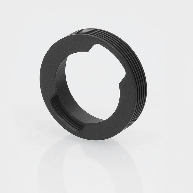 Authentic Gas Mods Black 30mm Beauty Ring W Heat Sink For
