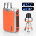Authentic Vaporesso Swag 80W TC VW Variable Wattage Box Mod + NRG SE Tank Kit - Orange, 5~80W, 1 x 18650, 3.5ml, 22mm Diameter