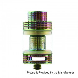 Authentic FreeMax Fireluke Mesh Sub Ohm Tank Atomizer - Rainbow, 0.15 Ohm, 3ml, 24mm Diameter