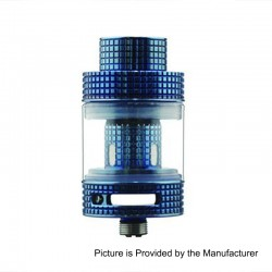 Authentic FreeMax Fireluke Mesh Sub Ohm Tank Atomizer - Blue, 0.15 Ohm, 3ml, 24mm Diameter