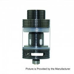 Authentic FreeMax Fireluke Mesh Sub Ohm Tank Atomizer - Gun Metal, 0.15 Ohm, 3ml, 24mm Diameter