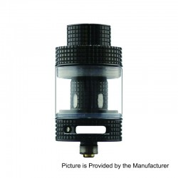 Authentic FreeMax Fireluke Mesh Sub Ohm Tank Atomizer - Black, 0.15 Ohm, 3ml, 24mm Diameter