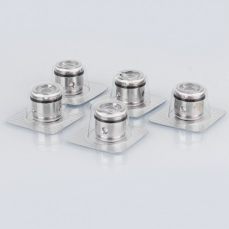 Authentic Joyetech Ornate Atomizer Replacement MGS 316L Stainless Steel Coil Head - Silver, 0.15 ohm (60~180W) (5 PCS)
