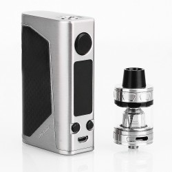 Authentic Joyetech eVic Primo 2.0 228W TC VW Box Mod with ProCore Aries Atomizer - Silver, 1~228W, 4ml, 2 x 18650