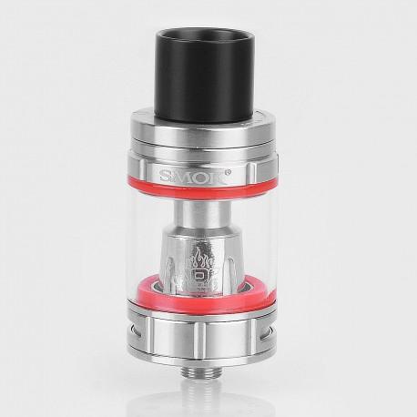Authentic SMOKTech SMOK TFV8 Big Baby Light Edition Sub Ohm Tank Atomizer - Silver, Stainless Steel, 5ml, 24.5mm Diameter