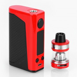 Authentic Joyetech eVic Primo 2.0 228W TC VW Box Mod with ProCore Aries Atomizer - Red, 1~228W, 4ml, 2 x 18650