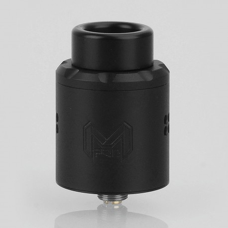 Authentic Digiflavor Mesh Pro RDA Rebuildable Dripping Atomizer w/ BF Pin - Black, Stainless Steel, 25mm Diameter