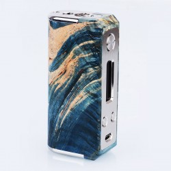 Authentic SXK Ultron Ares 70W TC VW Variable Wattage Box Mod - Random Color, Wood + Stainless Steel, 1~70W, 1 x 18650