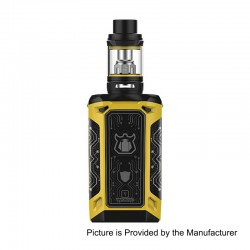 Authentic Vaporesso Transformer LE 220W TC VW Variable Wattage Mod + NRG Tank Kit - Yellow, 2 x 18650, 5ml, 26.5mm Diameter