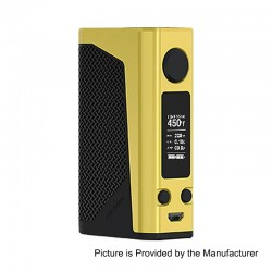 Authentic Joyetech eVic Primo 2.0 228W TC VW Variable Wattage Box Mod - Yellow, 1~228W, 2 x 18650