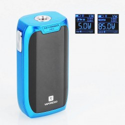 Authentic Vaporesso Revenger Mini 85W 2500mAh TC VW Variable Wattage Mod - Blue, Aluminum Alloy, 5~85W