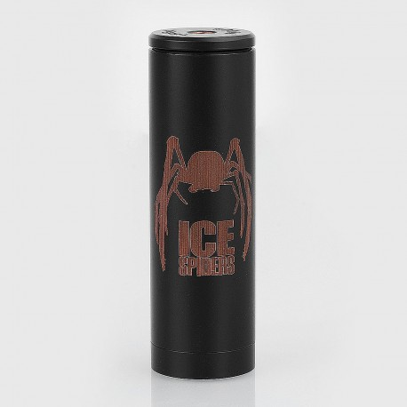 Authentic 5GVape Ice Spiders Hybrid Mechanical Mod - Black, Copper, 1 x 18650 / 20700