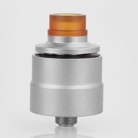 Kindbright Basic Style RDA Rebuildable Dripping Atomizer w/ BF Pin - Silver, 316 Stainless Steel, 22mm Diameter