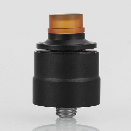 Kindbright Basic Style RDA Rebuildable Dripping Atomizer w/ BF Pin - Black, 316 Stainless Steel, 22mm Diameter