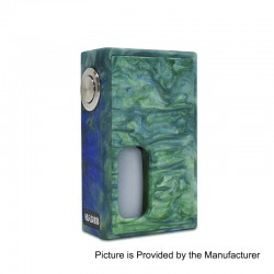 Authentic Hades BF Bottom Feeder Squonk Mechanical Box Mod - Green, Resin, 10ml, 1 x 18650