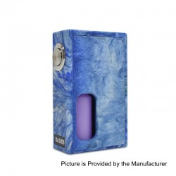 Authentic Hades BF Bottom Feeder Squonk Mechanical Box Mod - Blue, Resin, 10ml, 1 x 18650