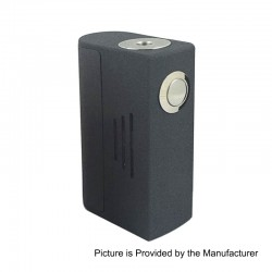 Bravo Box Style Bottom Feeder Squonk Mechanical Box Mod - Grey, ABS, 7ml, 1 x 18650 / 20700 / 21700