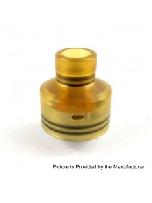 Kindbright NarCa Style RDA Rebuildable Dripping Atomizer w/ BF Pin - Brown, 316 Stainless Steel + PEI, 22mm Diameter