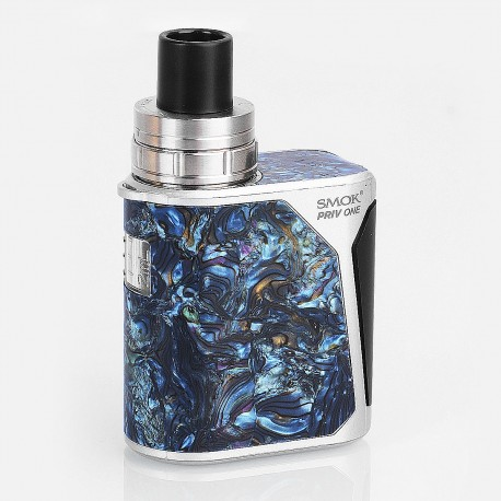 Authentic SMOKTech SMOK Priv One 60W 920mAh All-in-One Starter Kit - Blue, Stainless Steel, 0.6 Ohm (20~50W)