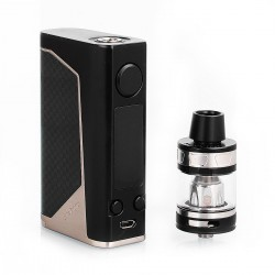 Authentic Joyetech eVic Primo 2.0 228W TC VW Box Mod with ProCore Aries Atomizer - Black, 1~228W, 4ml, 2 x 18650