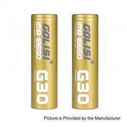 http://www.3fvape.com/178965-home_default/authentic-golisi-g30-imr-18650-3000mah-37v-25a-flat-top-rechargeable-battery-gold-2-pcs.jpg