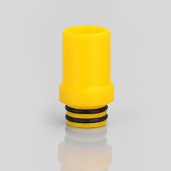 eGo One 510 Replacement Drip Tip for RDA / RTA / Sub Ohm Tank Atomizer - Yellow, POM, 20mm