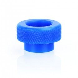 810 Wide Bore Drip Tip for 528 Goon / Kennedy / Reload RDA - Blue, POM, 10.8mm