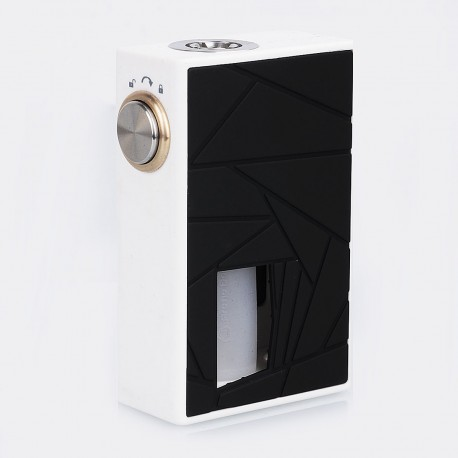 Authentic Arctic Dolphin Crea BF Squonk Mechanical Box Mod - White, PC + ABS, 7ml, 1 x 18650