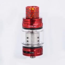 Authentic SMOKTech SMOK TFV12 Prince Sub Ohm Tank - Red, Stainless Steel, 8ml, 28mm Diameter, Standard Edition