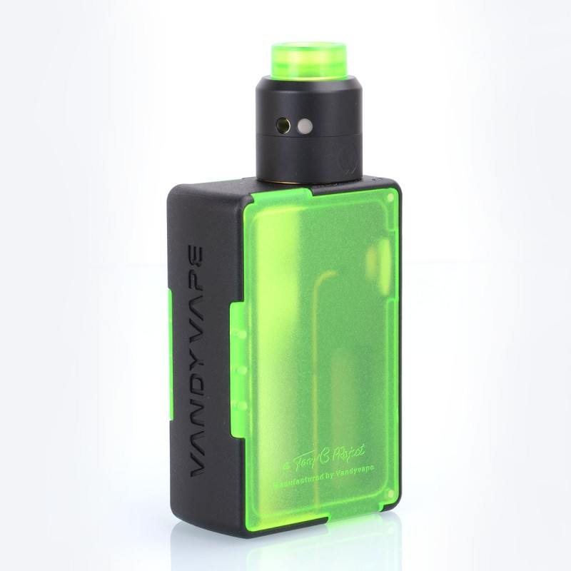 Authentic Vandy Vape Pulse BF Green Squonk Mod + Pulse 24 BF