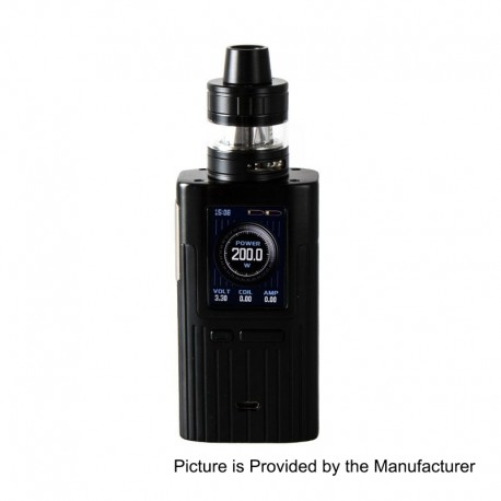 Authentic Joyetech ESPION 200W TC VW Variable Wattage Box Mod + ProCore X Tank Kit - Black, 1~200W, 2 x 18650, 2ml