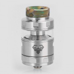 Authentic GeekVape Blitzen RTA Rebuildable Tank Atomizer TPD Edition - Silver, Stainless Steel, 2ml, 24mm Diameter
