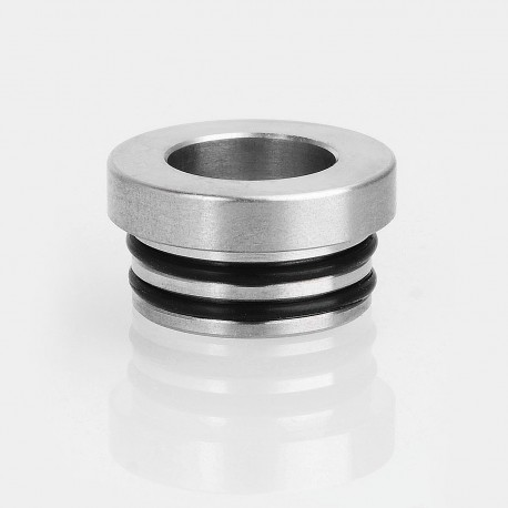 810 to 510 Drip Tip Adapter for RDA / RTA / Sub Ohm Tank - Silver, Stainless Steel