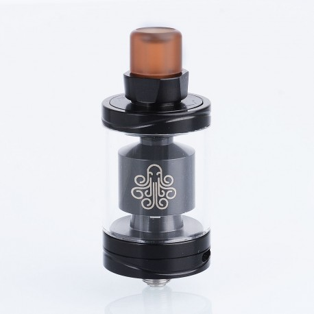 Authentic Cthulhu Hastur MTL RTA Rebuildable Tank Atomizer - Black, Stainless Steel, 3.5ml, 24mm Diameter