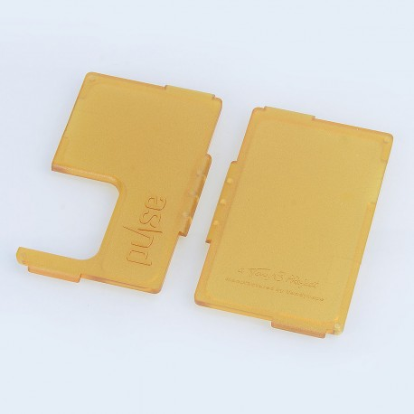 Authentic Vandy Vape Replacement Front + Back Panel for Pulse BF Squonk Box Mod - Ultem, ABS (2 PCS)