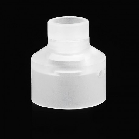 Replacement 510 Drip Tip + Top Cap Kit for NarCa Style RDA - White, PC
