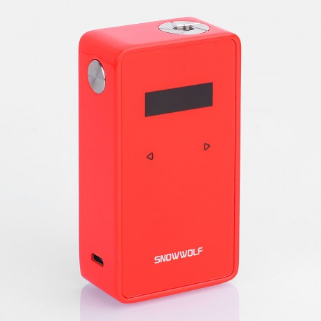 Authentic Snowwolf 200W Plus TC VW Variable Wattage Box Mod - Red, Zinc Alloy, 10~235W, 2 x 18650