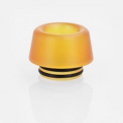 810 Replacement Drip Tip for TFV8 / TFV12 Tank / 528 Goon / Kennedy / Reload RDA - Yellow, PEI, 13.5mm