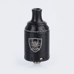 Authentic Vandy Vape Berserker Mini MTL RTA Rebuildable Tank Atomizer - Black, Stainless Steel, 2ml, 22mm Diameter