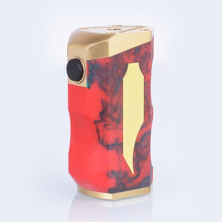 Zenetik Style Hybrid Mechcanical Box Mod - Random Color, Resin + Brass, 1 x 18650